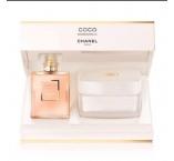 CHANEL Coco Mademoiselle darčeková sada parfémová voda 50 ml + tělový krém 150 g pro ženy